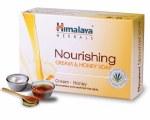 HIMALAYA HERBALS NOURISHING CREAM AND HONEY CLEANSING BAR SOAP 125GM