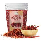JIVA ORGANIC DRY RED CHILLI/CHILLY WHOLE 100GM