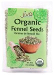 JIVA ORGANIC FENNEL SEEDS 200GM