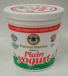 Karoun Yogurt Plain 4lb