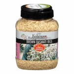 KOHINOOR BROWN BASMATI RICE 4LB JAR