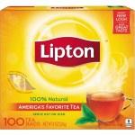 LIPTON YELLOW TEA BAGS 100CT