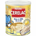 NESTLE CERELAC RICE WITH MILK 400GM