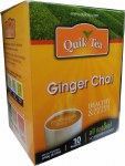 QUIK TEA GINGER TEA 10 CT