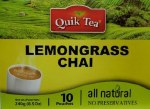 QUIK TEA LEMON GRASS TEA 10 CT