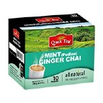 QUIK TEA MINT GINGER TEA 10 CT