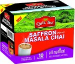 QUIK TEA  SAFFRON MASALA TEA 10 CT
