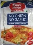 RASOI MAGIC NO ONION NO GARLIC PANEER MAKHANWALA MASALA 50G