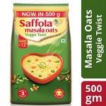 Saffola Veggie Oats 500gm