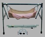 Stainless Steel Folding Baby Swing