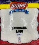 SUPER SABUDANA (SAGO SMALL PEARL SIZE) 4LB