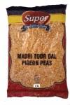 SUPER TOOR DAL OILY 4LB (SPLIT PIGEON PEAS)