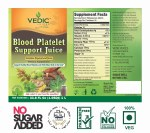 VEDIC BLOOD PLATELET SUPPORT JUICE 1LT