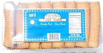 Twi Crispy Cake Rusk 650g