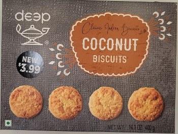 Deep Coconut Biscuits 400gm