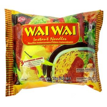 WaiWai Chicken Noodles 75GM