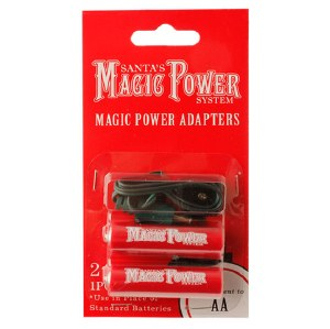 2-AA Battery Power Adapter Cord
