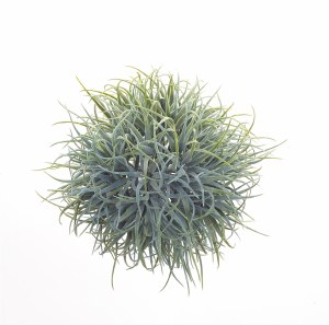 "7"" Green Faux Tillandsia Orb"