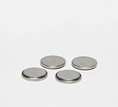 Set of 4 Electric Candle Remote CR2032 Lithium Batteries
