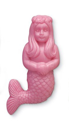 "4"" Pink Mermaid Soap"