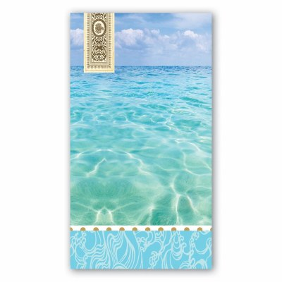 "8"" Beach Guest Towels"