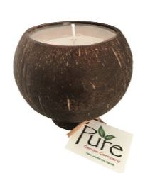 "3.5"" Beach Scented Pure Coconut Candle"