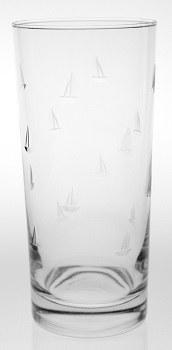 15 oz. Etched Sailing Cooler Glass