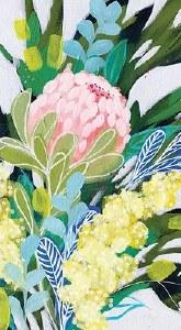 "8"" x 5"" Royal Botanic Paper Guest Towels"
