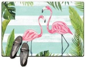 "20"" x 30"" Flamingo Stripes Cush Mat"