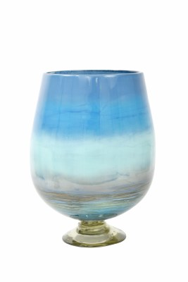 """15"""" Oceanside Footed Vase"""