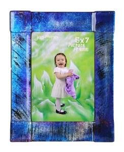 "5"" x 7"" Dark Blue Glass Frame"