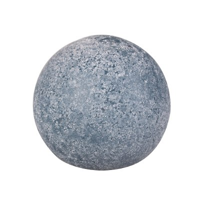 """4"""" Frosted Navy Orb Glass"""