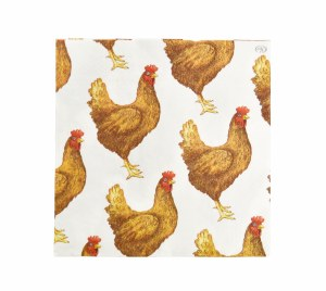 Chickens Beverage Napkins