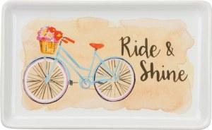 "4"" x 7"" Ride & Shine Dish"