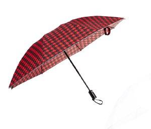 Red Compact Inverted Umbrella