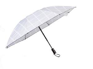 White Compact Inverted Umbrella