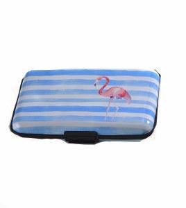 """3"""" x 4"""" Flamingo RFID Blocking Wallet"""