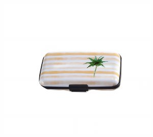 "3"" x 4"" Palm Tree RFID Blocking Wallet"