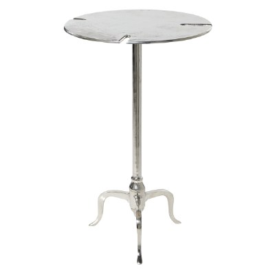 "18"" Round Aluminum Table"