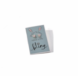 Every Bunny Earrings and Card