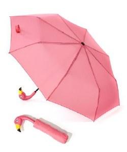 """16"""" Flamingo Compact Umbrella"""