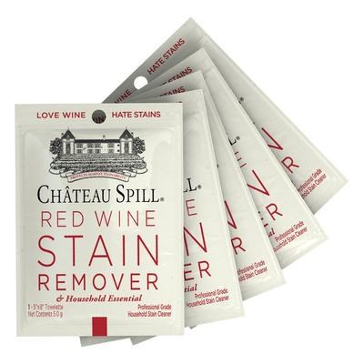 Pack Of 5 Chateau Spill Wipes