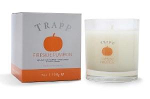7 oz Fireside Pumpkin Glass Candle