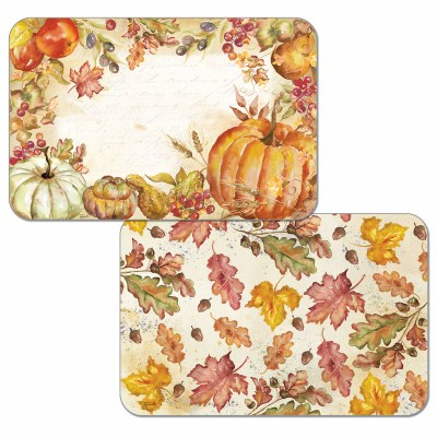 "11"" x 17"" White Harvest Placemat"
