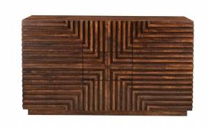 """51"""" Brown Line Design 2 Door 3 Drawer Credenza"""