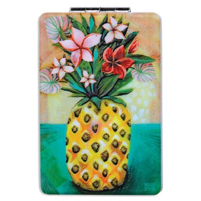 "4"" Pineapple Compact Mirror"