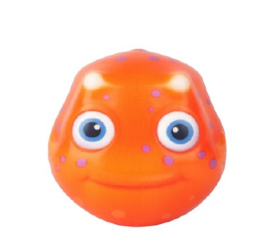 "3.5"" Orange Fish Water Ball"