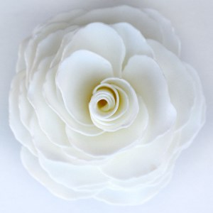 "5"" x 3"" Graceful Day Gardenia Soap Flower"