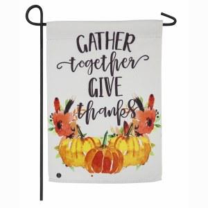 "18"" x 12"" Gather Together Garden Flag"