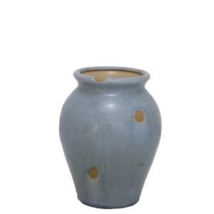 "8.5"" Blue Roudn Penrose Vase"